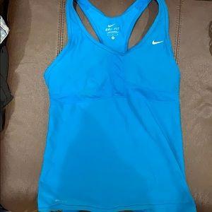 Torquise Nike sports bra